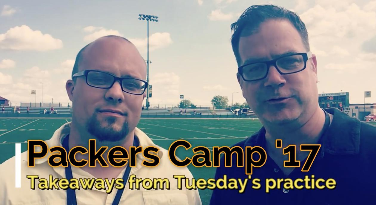 Ryan Wood and Aaron Nagler of PackersNews.com go over new injuries coming out of Tuesday's practice and look at the Packers' continued focus on tackling.