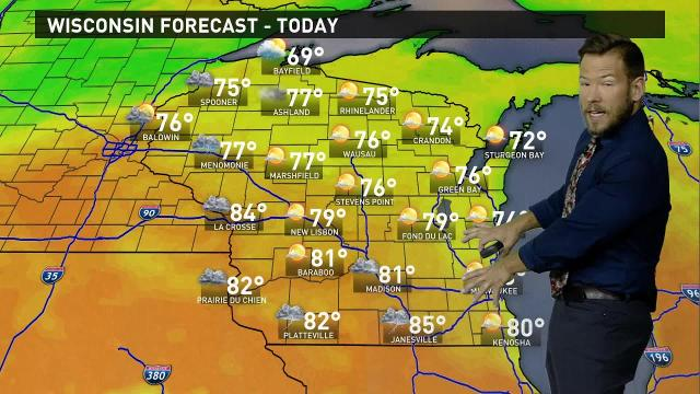 Wisconsin weather forecast for Wednesday, Aug. 16
