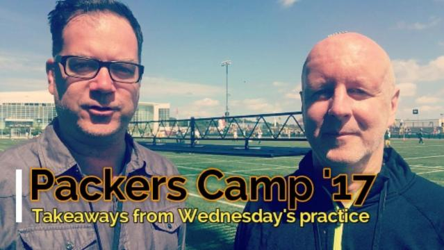 Takeaways from Packers practice: Aug. 16