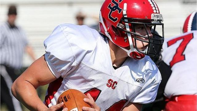 Senior spotlight on Spencer/Columbus Catholic football player Hunter Luepke