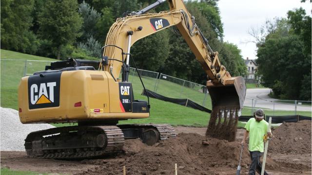 Construction has begun on a new skate park in Sheboygan's Kiwanis Park.