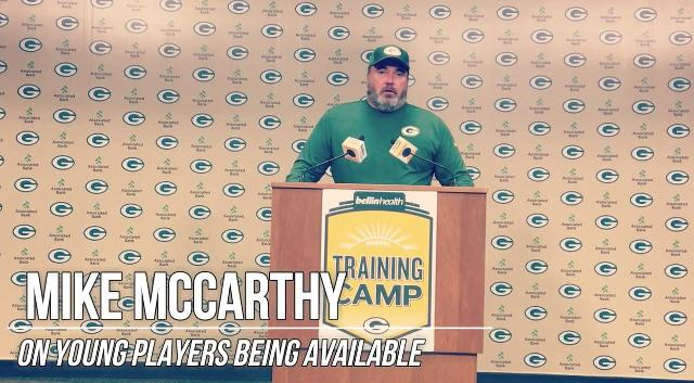 McCarthy: No ability better than availability