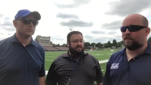 Andrew Gruman, Evan Frank and JR Radcliffe dive into the first Friday night of the 2017 football season with a preview on Facebook Live at Waukesha South High School.