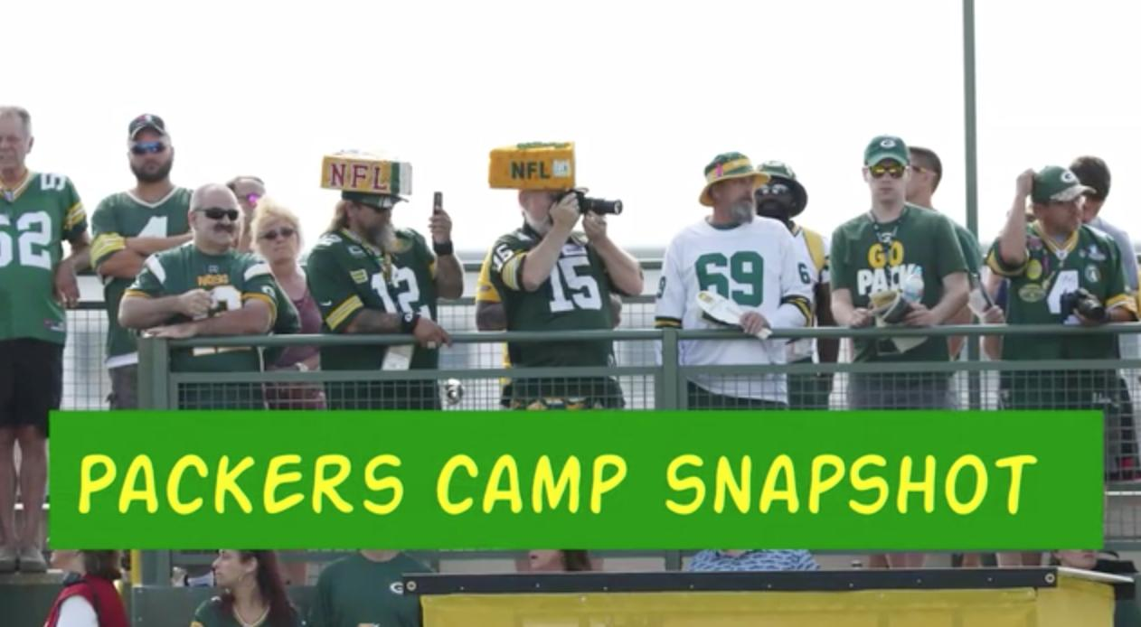 Videos from Green Bay Packers training camp 2017