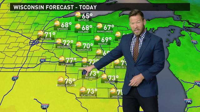 Wisconsin weather forecast for Wednesday, Aug. 23