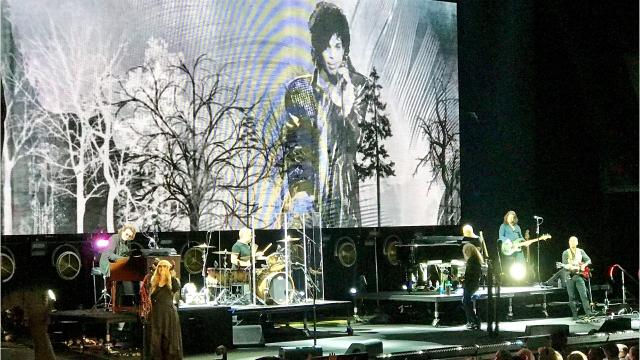 Rock icon Stevie Nicks brought her 24 Karat Gold Tour to the Resch Center on Aug. 23.