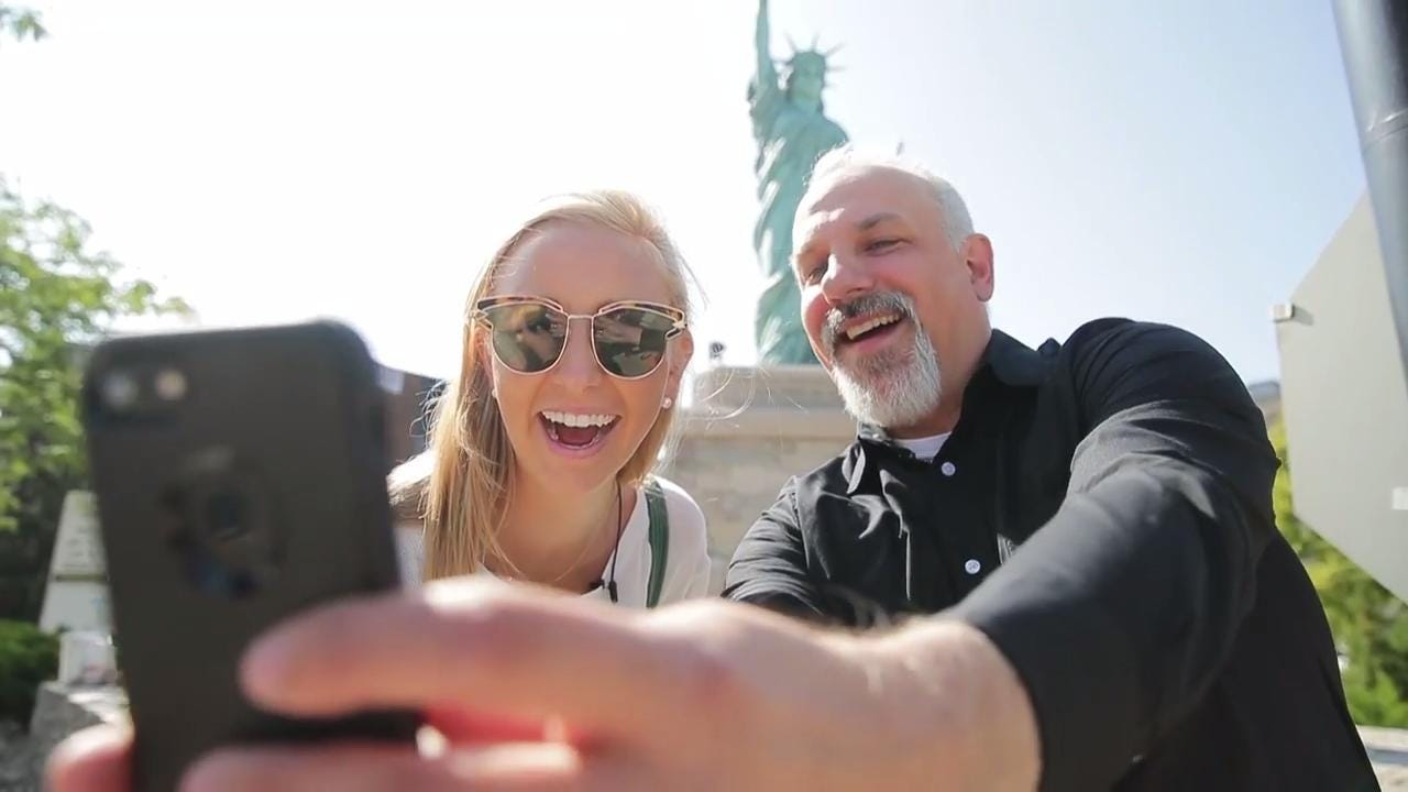 Dan Higgins, with USA TODAY NETWORK-Wisconsin, and Molly Lucas, a food instagrammer, travel through the Fox Cities with $100 to spend for USA TODAY's Travel Allowance series. (Aug. 25, 2017)