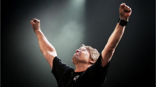 Bob Seger made the third stop on his Runaway Train Tour Aug. 30 at the Resch Center, where he was greeted by a sold-out crowd.