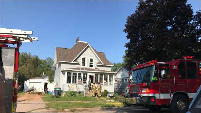 Firefighters responded to a minor fire on 8th Avenue North in Wisconsin Rapids Friday, September 1.