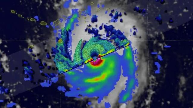 3-D images of Hurricane Irma from NASA
