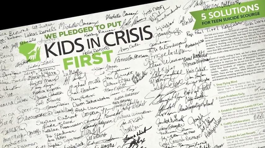 Kids In Crisis Wisconsin Schools Get More Therapists Social Workers