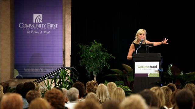 Appleton native Dr. Ann McKee spoke to more than 1,000 people at the 17th annual Women's Fund Luncheon on Thursday. (Sept. 7, 2017)