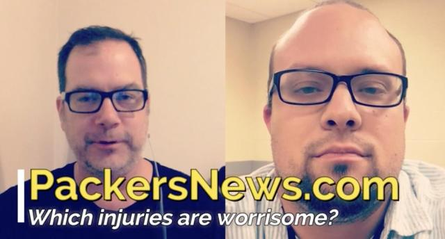Which Packers injuries are worrisome heading into Atlanta?