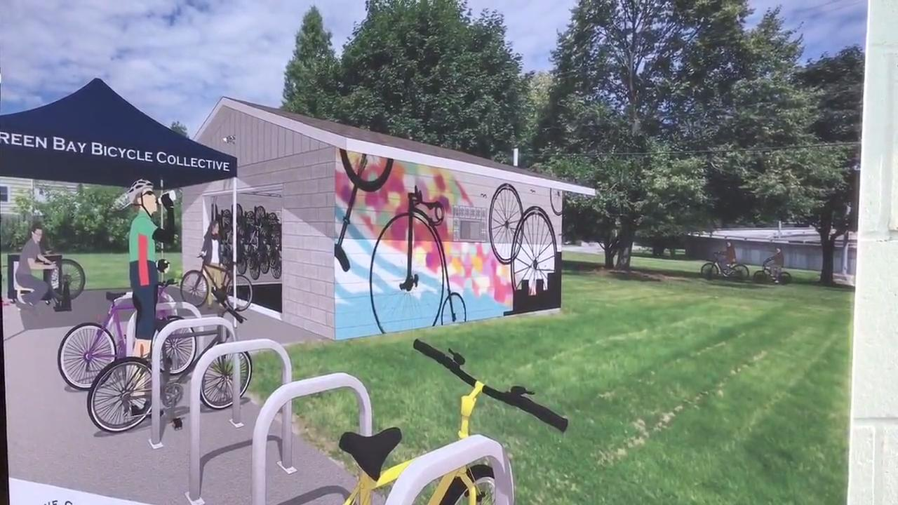 The local nonprofit group wants to raise $13,000 to renovate and equip a free bike shop for anyone to use. Sept. 15, 2017.