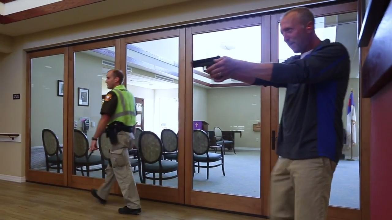 The Sheboygan Senior Community in the Town of Sheboygan did an active shooter drill to gain its certification in being prepared for the worst case situation.