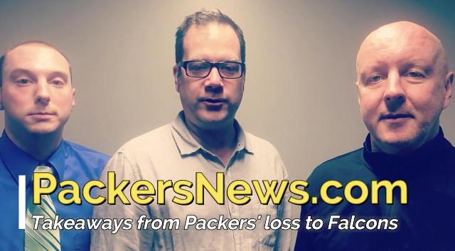 Takeaways from another Packers loss to Falcons