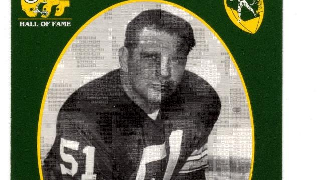 A look at the centers who have been inducted into the Green Bay Packers Hall of Fame.