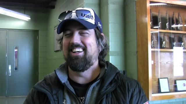 Speedskating coach Matt Kooreman