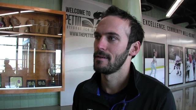 Speedskater Mitch Whitmore