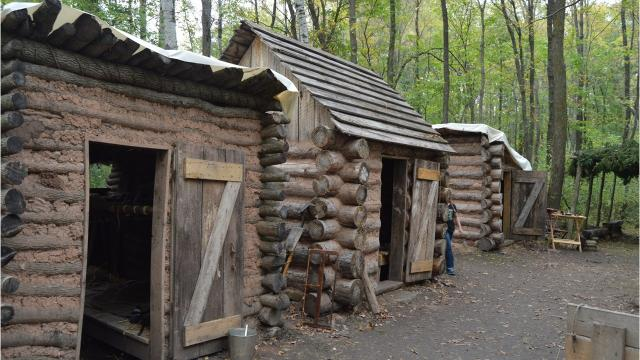 The modern world disappears with every step down a meandering wooded path at the Wade House, giving way to the smell of fresh baked bread, a fiddler's tune, and the bustle of Civil War soldiers preparing for their day.
