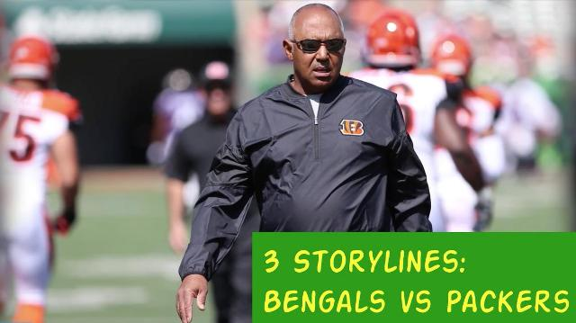 Bengals-Packers: 3 storylines to watch