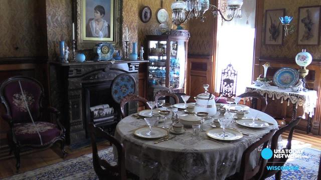 Step inside the historic Morgan House in Oshkosh
