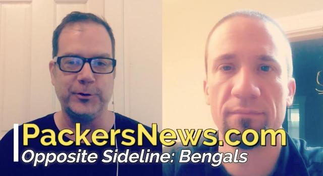 Opposite Sideline: Cincinnati Bengals