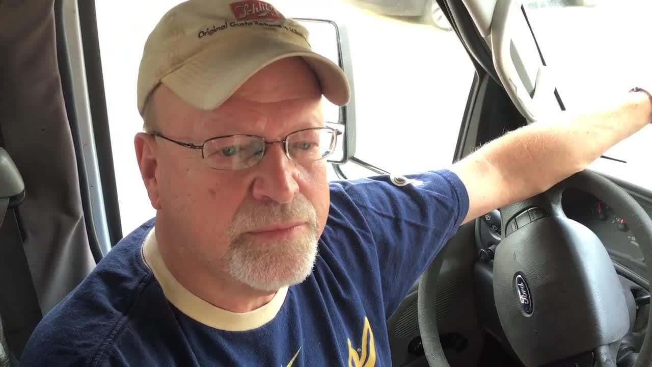 Shuttle driver Joe Janz keeps his Brewers streak going