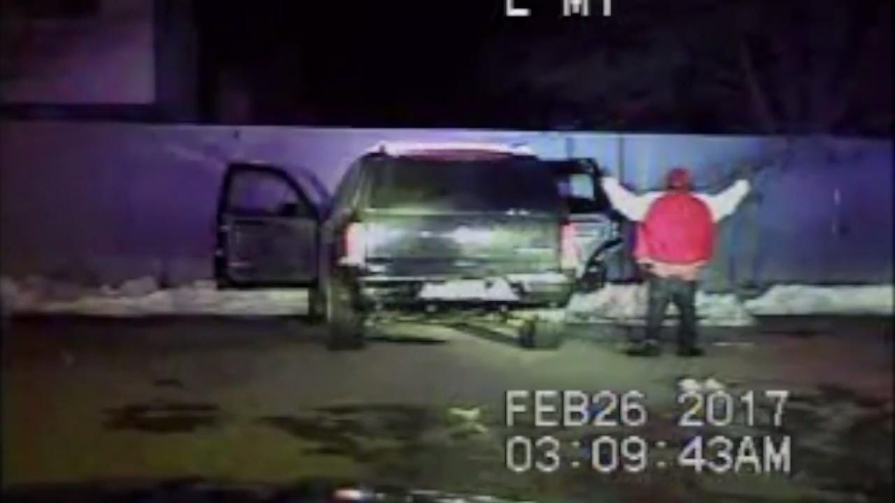 Green Bay Police dash cam footage of Feb. 26 excessive police force incident
