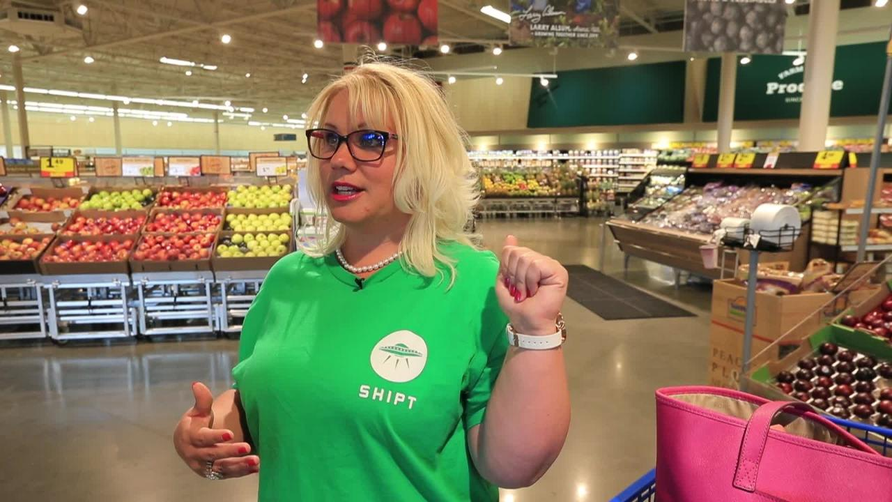 Shipt offers grocery delivery from Meijer stores. It's one option in a wave of new pick-up and delivery options shoppers have in a changing grocery market.