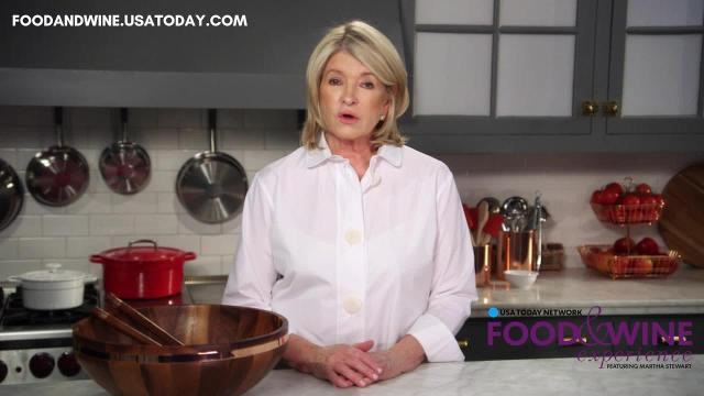 Martha Stewart talks Wisconsin Food & Wine Experience