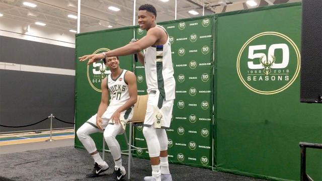 Bucks Giannis tells a bad joke