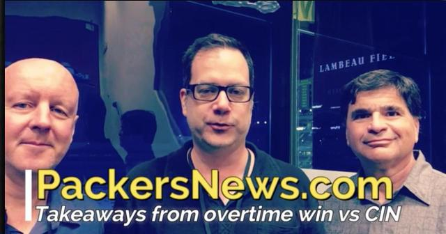 Takeaways from Packers' OT win over Bengals