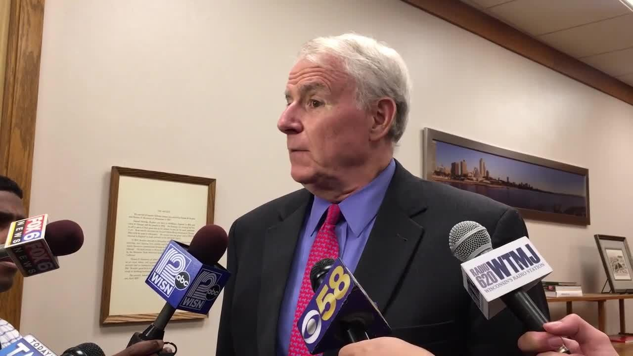 Mayor Tom Barrett talks about his proposed 2018 budget