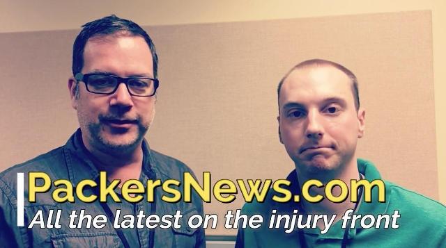 Assessing Packers' injuries ahead of Bears game