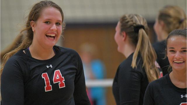 Lourdes Academy beat Valley Christian in a Trailways East volleyball match