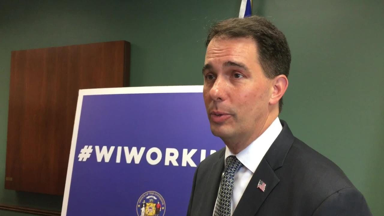Gov. Scott Walker said a state budget provision that renders efforts to restrict short-term rentals gives property owners some consistency to rely on. Ashwaubenon elected officials called the budget provision state overreach into a local issue.
