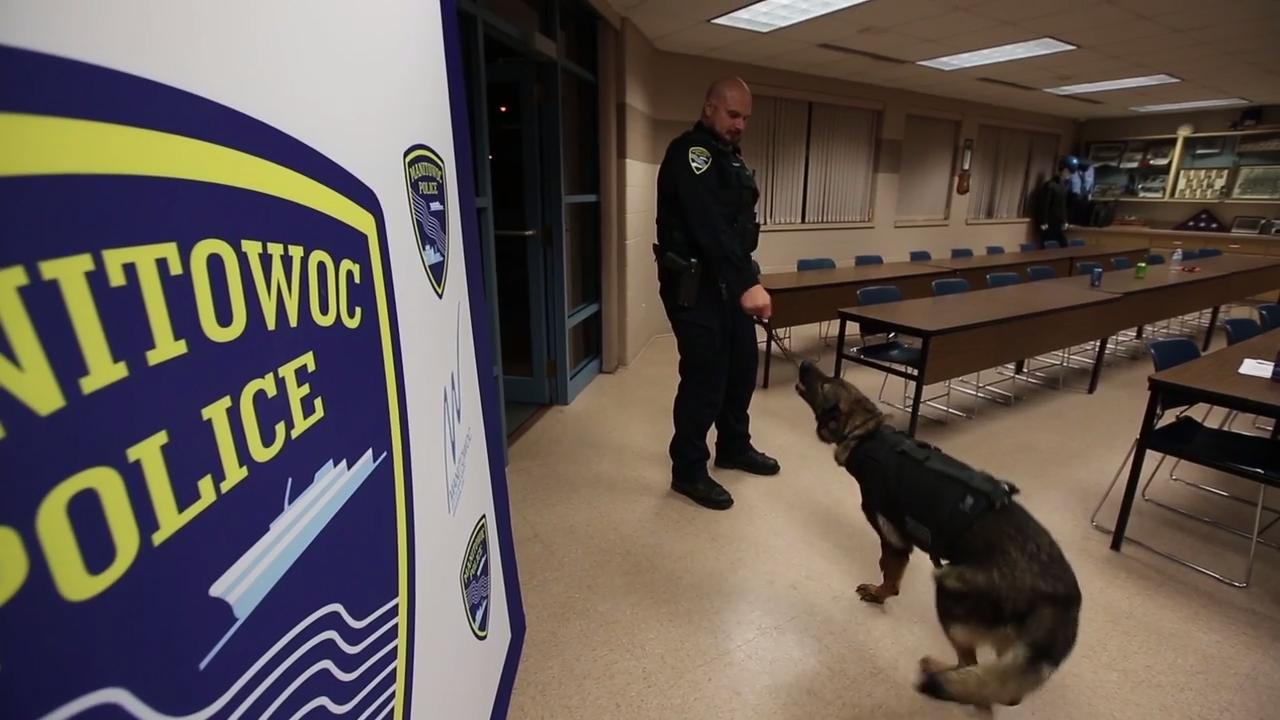 Ride along with Manitowoc police K-9 Unit