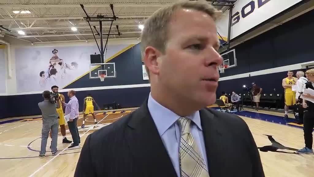 Video: Steve Wojciechowski at Marquette media day