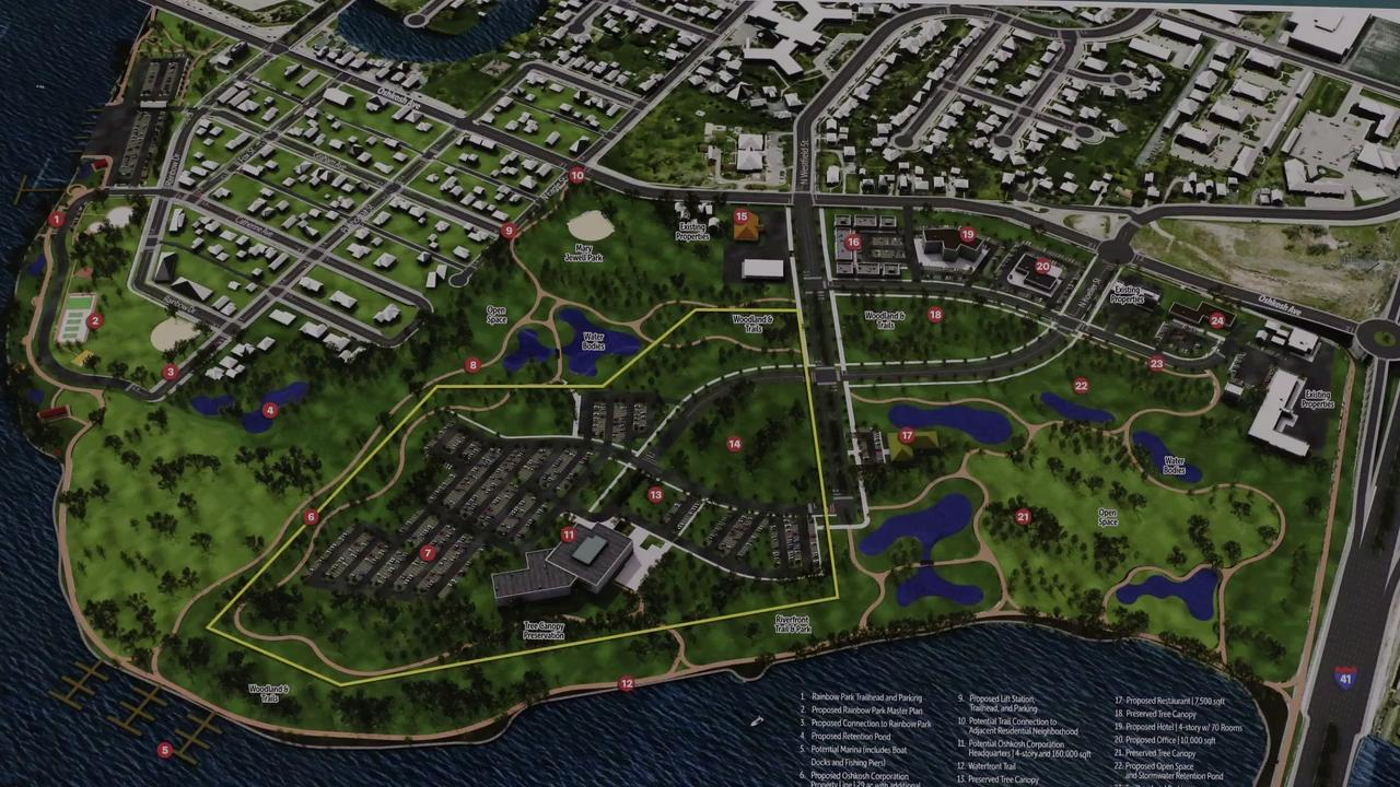 A joint meeting of the Parks Advisory Board and the Oshkosh Planning Commission was held Wednesday, October 4, 2017 at the Oshkosh Convention Center.   The topic was Lakeshore Golf Course.