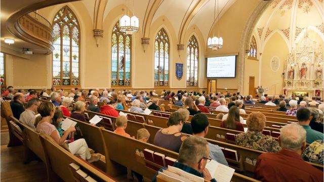 Appleton's oldest Lutheran church is celebrating its sesquicentennial throughout the month of October. (Oct. 8, 2017)