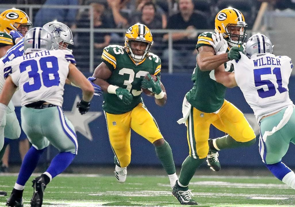 Aaron Nagler hosting a Facebook Live session Monday evening, discussing the latest news and taking questions from Packers fans. (Oct. 9, 2017)