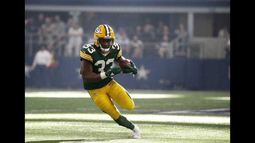 LeRoy Butler talks about the job rookie RB Aaron Jones has done so far and how he fits into the Packers' offense. (Oct. 10, 2017)