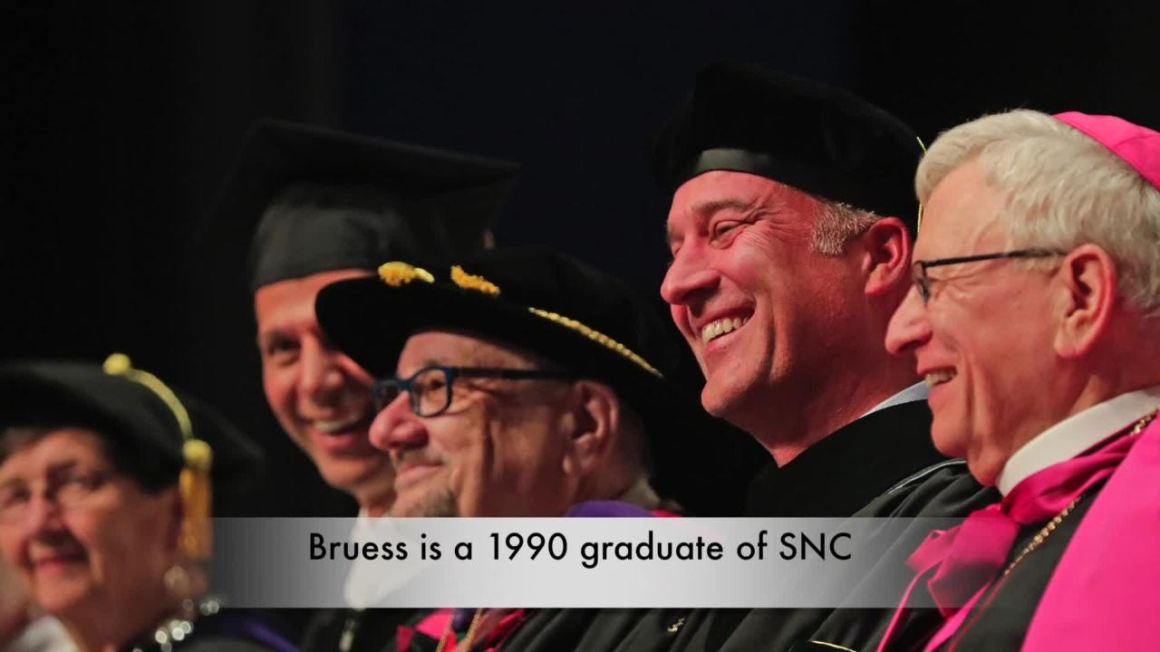 The inauguration of President Brian Bruess as the 8th president of St. Norbert College on Oct. 11, 2017.