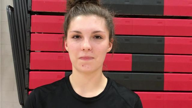 Stevens Point Area Senior High middle hitter/blocker Rachel Sullivan has made a huge impact over her three years as a starter on the volleyball team, especially in her senior season as the Panthers fight for a Wisconsin Valley Conference title.