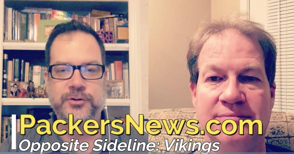 Aaron Nagler speaks with Chris Tomasson of the St. Paul Pioneer Press to get the latest on the Green Bay Packers' opponent on Sunday, the Minnesota Vikings.