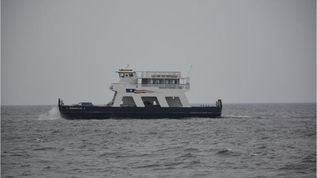 When there is peak demand, the Washington Island Ferry Line boats run continuously. The company is considering ways to meet the growth in tourists visiting the island.