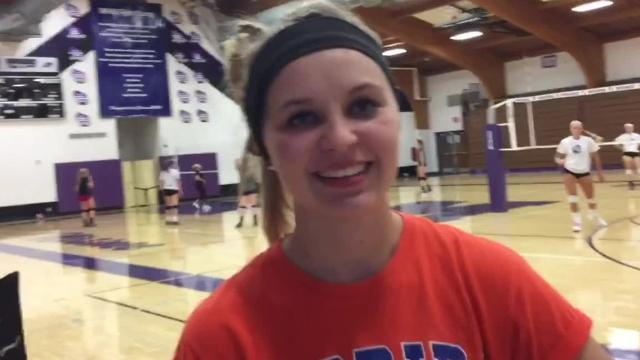 The veteran libero talks about Mosinee's run to the Great Northern Conference championship this year and what she likes about playing a defensive position for her team.