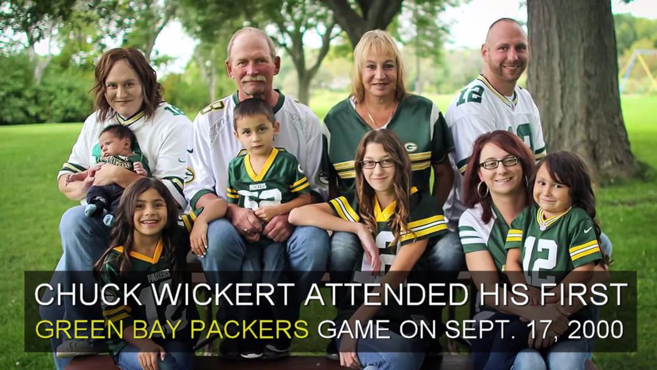 Chuck Wickert had a heart attack at Lambeau Field in 2000. Seventeen years later, he found the women who saved him in the stands.