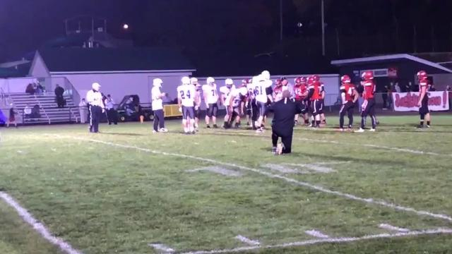Hill, a 17-year-old student manager with special needs, got the opportunity to kick an extra point at the end of Mosinee's win over Wausau East last Friday at Thom Field. Video courtesy of Mosinee High School.
